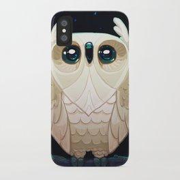 Starla the Owl iPhone Case