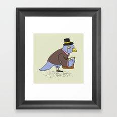 The Business Bird Framed Art Print
