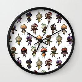 Mandragoras Print Wall Clock