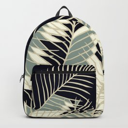 Oriental Palm Riddle Vintage Backpack