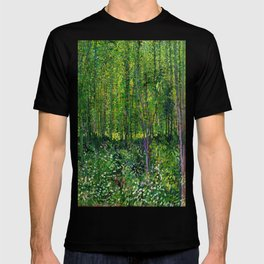Vincent Van Gogh Trees & Underwood T-shirt
