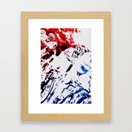 Riding Framed Art Print
