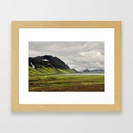 þórsmörk II Framed Art Print