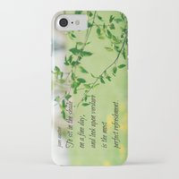 jane austen iPhone & iPod Cases featuring Jane Austen Refreshment by KimberosePhotography