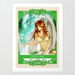 Wings Of Faith : Healer Art Print