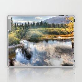 Fall Fly Fishing in Maine Laptop & iPad Skin