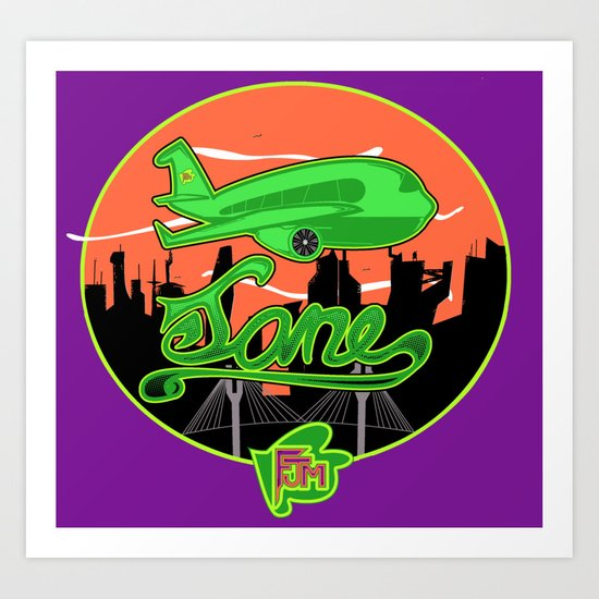 Planes & Jane's Art Print