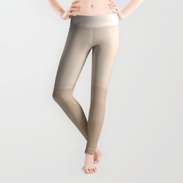 Touching Warm Beige Watercolor Abstract #1 #painting #decor #art #society6 Leggings