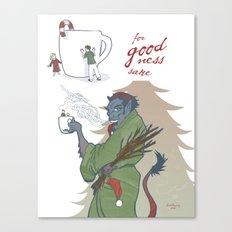 A Kup of Krampus Canvas Print
