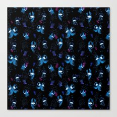 Disco pattern Canvas Print