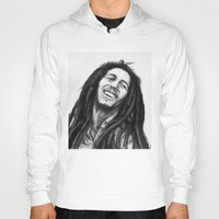marley Hoodies featuring Marley ballpoint pen by David Kokot