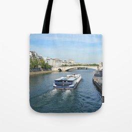 Seine River Tote Bag