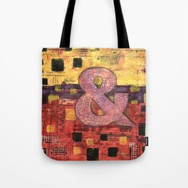 Journey by Number: Ampersand Tote Bag