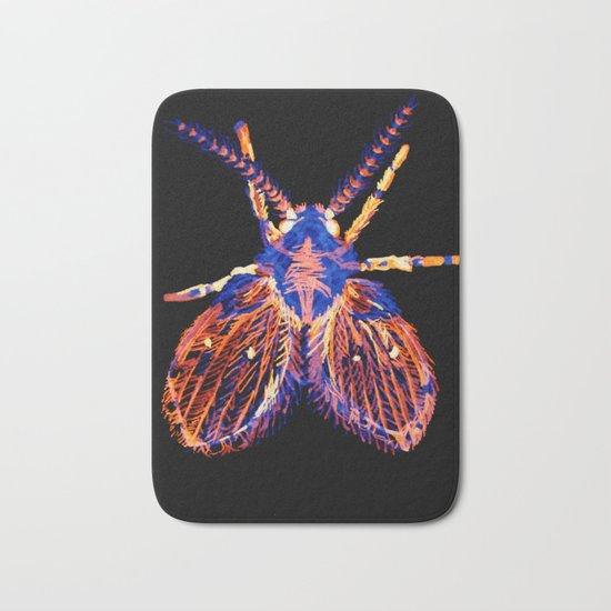Drain Fly Inverted Bath Mat