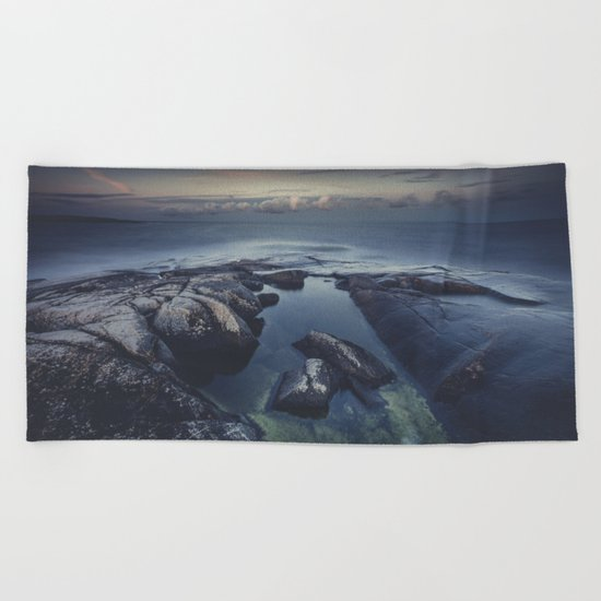 As we fade away Beach Towel