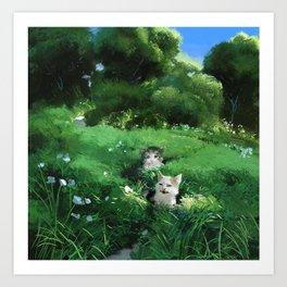 Internet Cats Art Print