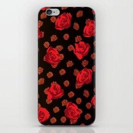 dark roses iPhone Skin