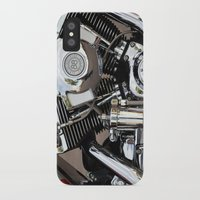 harley iPhone & iPod Cases featuring Harley  by Marieken