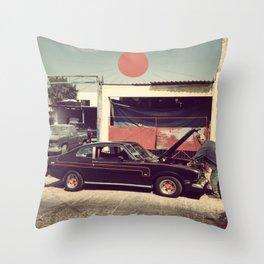 Monterrey Mechanic Throw Pillow