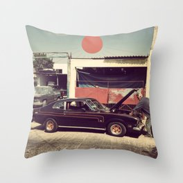 Monterrey Mechanic Throw Pillow