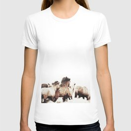 WILD AND FREE 2 - HORSES OF ICELAND T-shirt