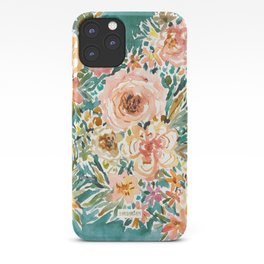 E-BULLIENCE Lush Floral iPhone Case