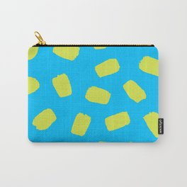 Sunny Day Brushstrokes Carry-All Pouch