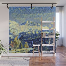 "Gogh's by The Bürg Atelier Collection - ""The Valley"" Wall Mural"