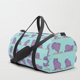 Baby Hippo Yoga Duffle Bag