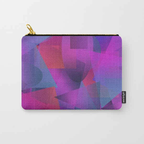 Abstract cube Carry-All Pouch
