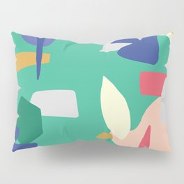 Abstract Color Pillow Sham