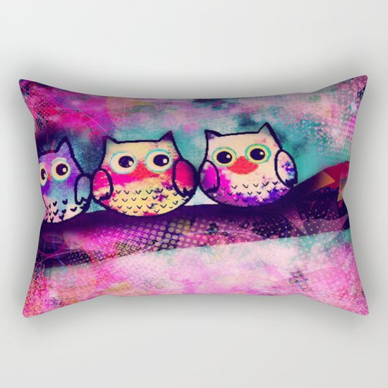 owl-88 Rectangular Pillow