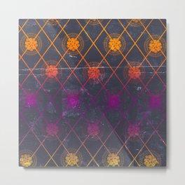 Mandala Repeat Metal Print