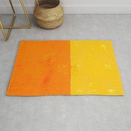 Sherbert Orange and Yellow Colors Rug
