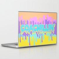 coachella Laptop & iPad Skins featuring Coachillin' by Sara Eshak