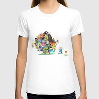 katamari T-shirts featuring Adventure Time - Land of Ooo Katamari by Sin nombre