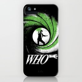 The Name's Who iPhone Case