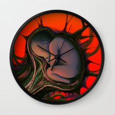Cover Art, Bad Blood Wall Clock