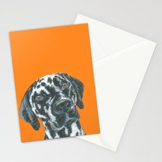 Dalmatian, printed from an original painting by Jiri Bures Stationery Cards