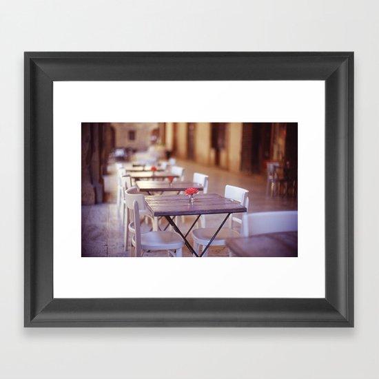 Tuscany Rose Framed Art Print