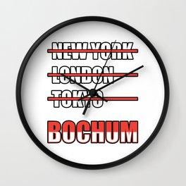 Bochum Cities gift idea Wall Clock