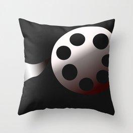 Film Roll Throw Pillow