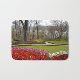 tulip park and bosphorus Bath Mat