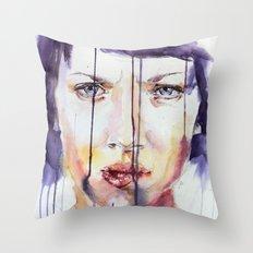 Portraint 1 Throw Pillow