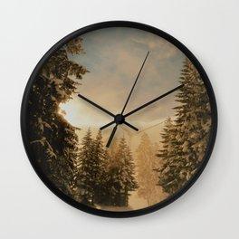 lonley wanderer Wall Clock