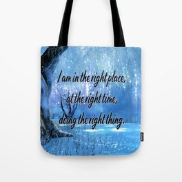 Doing All Right Tote Bag