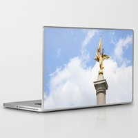 washington dc Laptop & iPad Skins featuring Washington DC by Alexandra Nicole