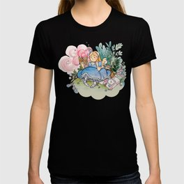 Alice reads T-shirt