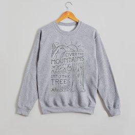 Over The Mountains Crewneck Sweatshirt
