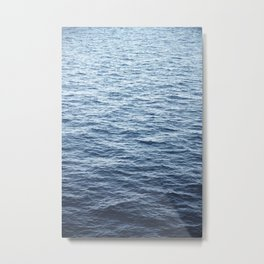 Calm Deep Ocean Metal Print